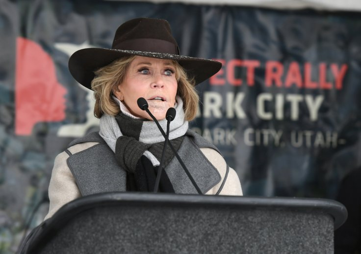 Jane Fonda vows to do more climate change protests after arrest