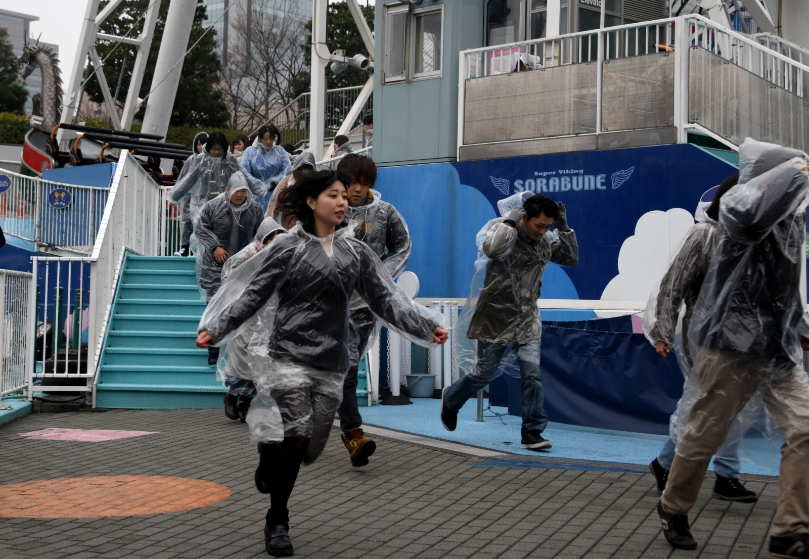Tokyo evacuation drills