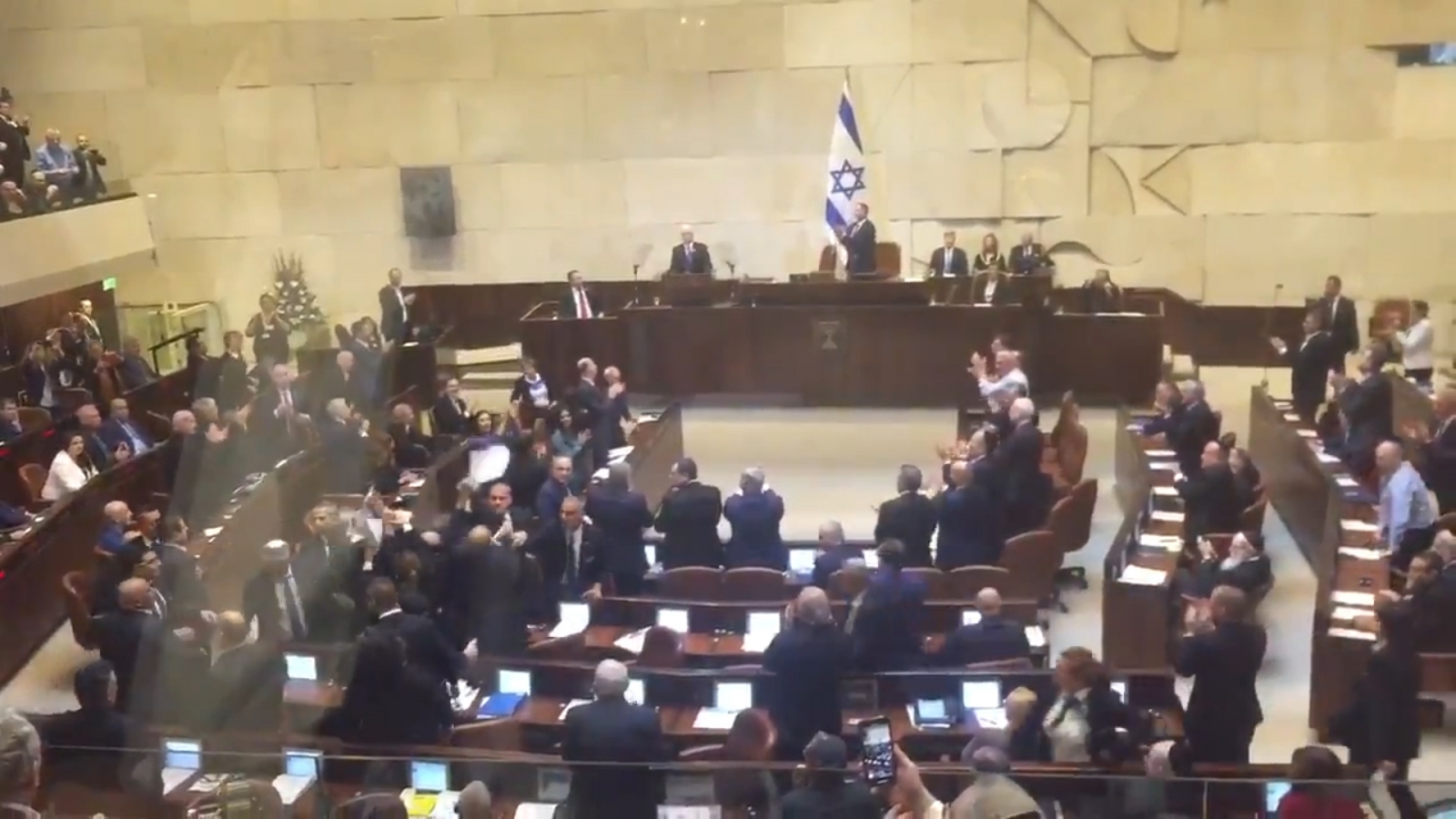 Arab Lawmakers Ejected From The Israeli Parliament During Pence Speech