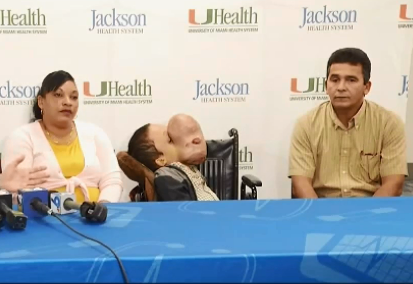 Cuban boy with 10-pound tumor on his face dies