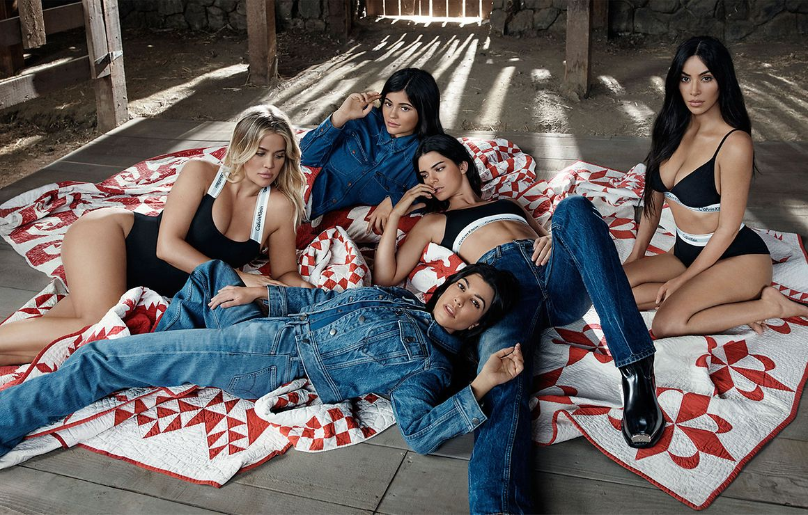 What Is A Bump Key >> Kylie Jenner hides baby bump next to underwear-clad sisters in Calvin Klein campaign
