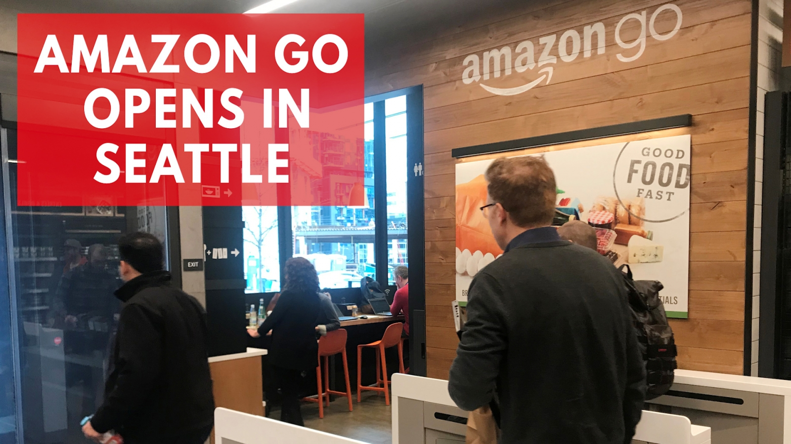 Amazon Go: New Cashier-Less Grocery Store Opens In Seattle