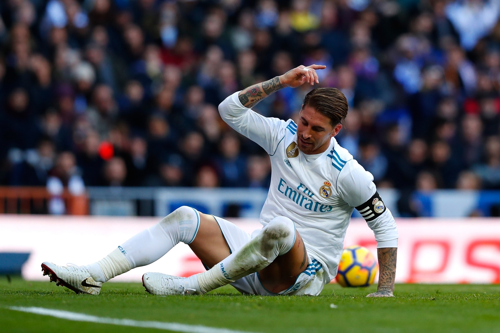 Sergio ramos steps up recovery ahead of real madrid vs - Sergio madrid ...