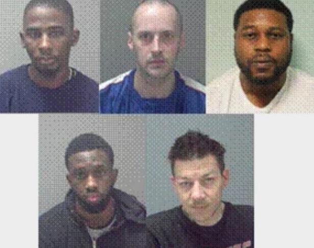 Drug gang jailed