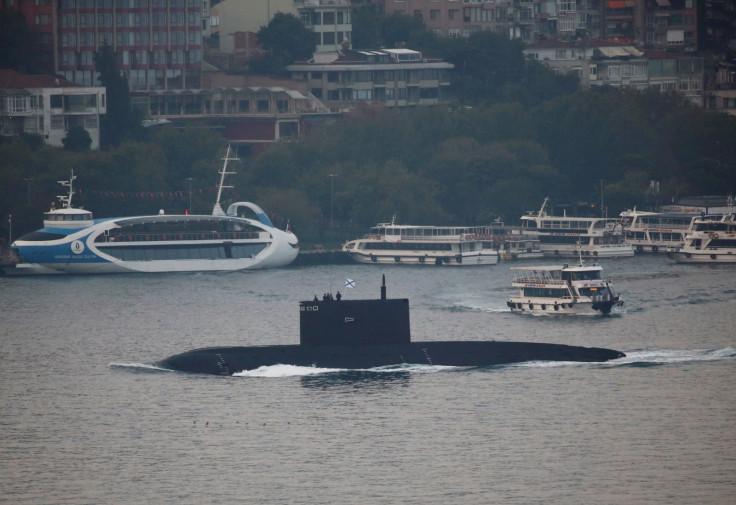 Russia's kilo-class submarine