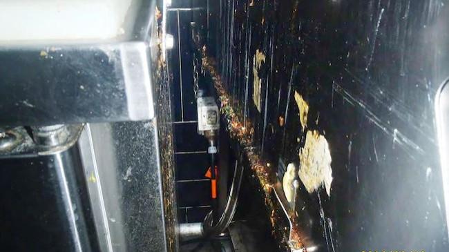 Nando's dirty kitchen