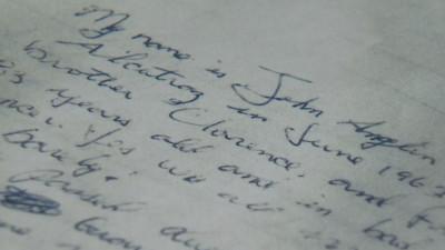 Alcatraz letter