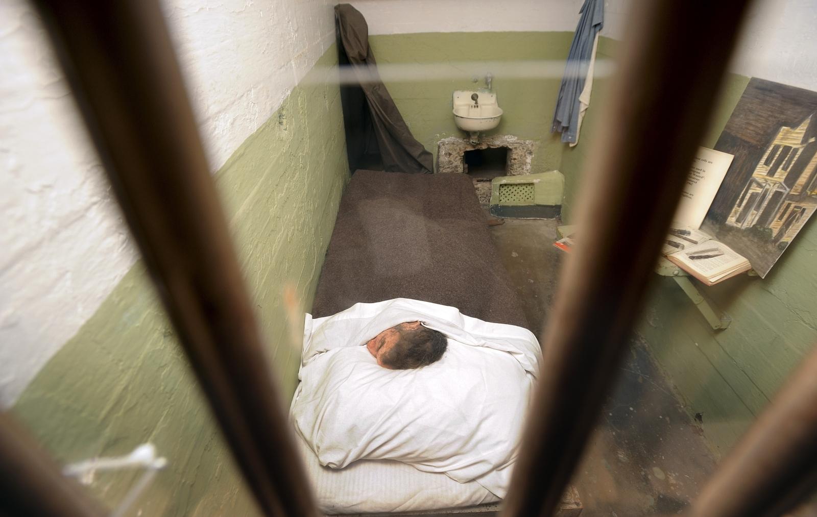 John anglin Alcatraz cell
