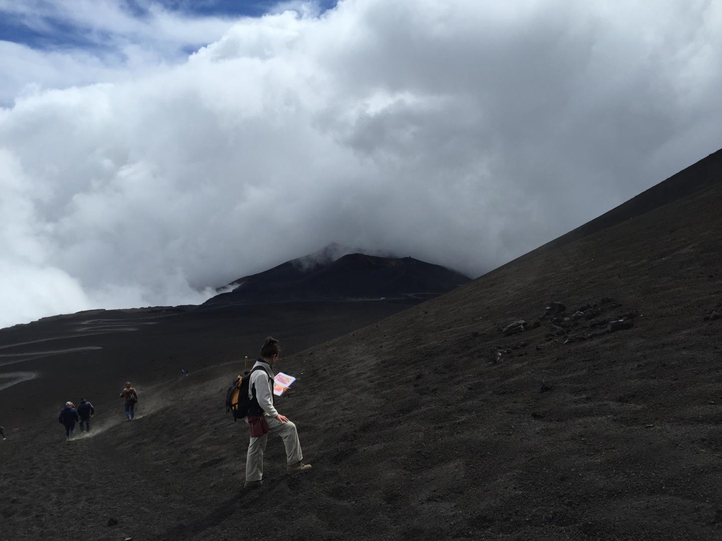 Mount Etna research