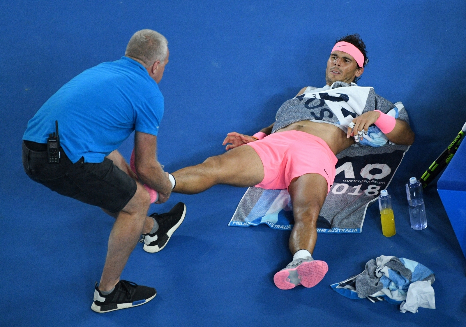 'Too many people getting injured': Rafael Nadal calls for tour rethink after Australian Open retirement