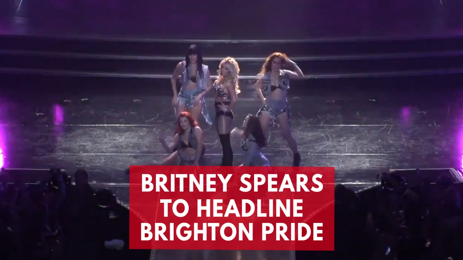 Britney Spears To Headline Brighton Pride During U.K. Tour