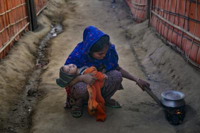 Rohingya women safe space