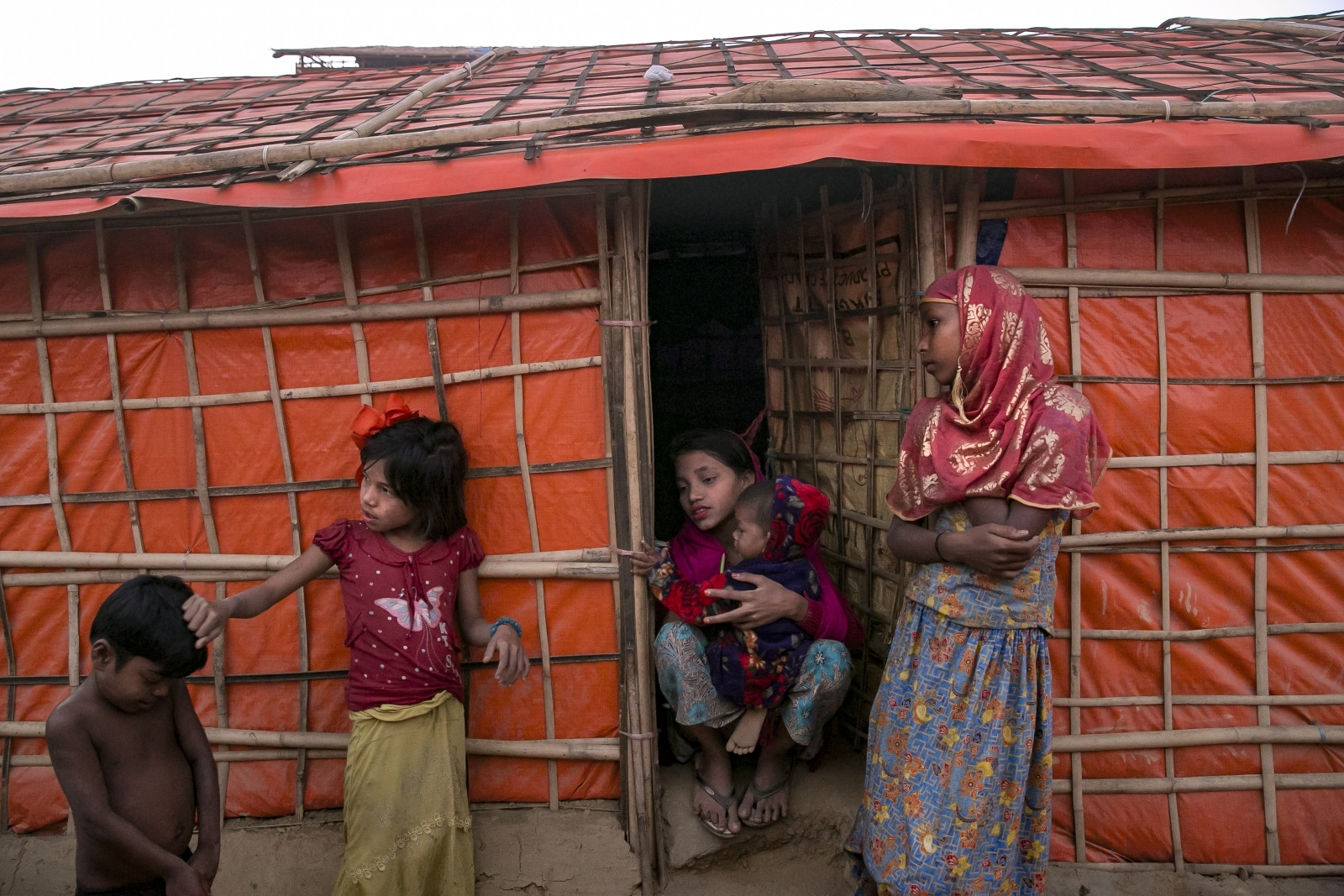 Rohingya women safe space