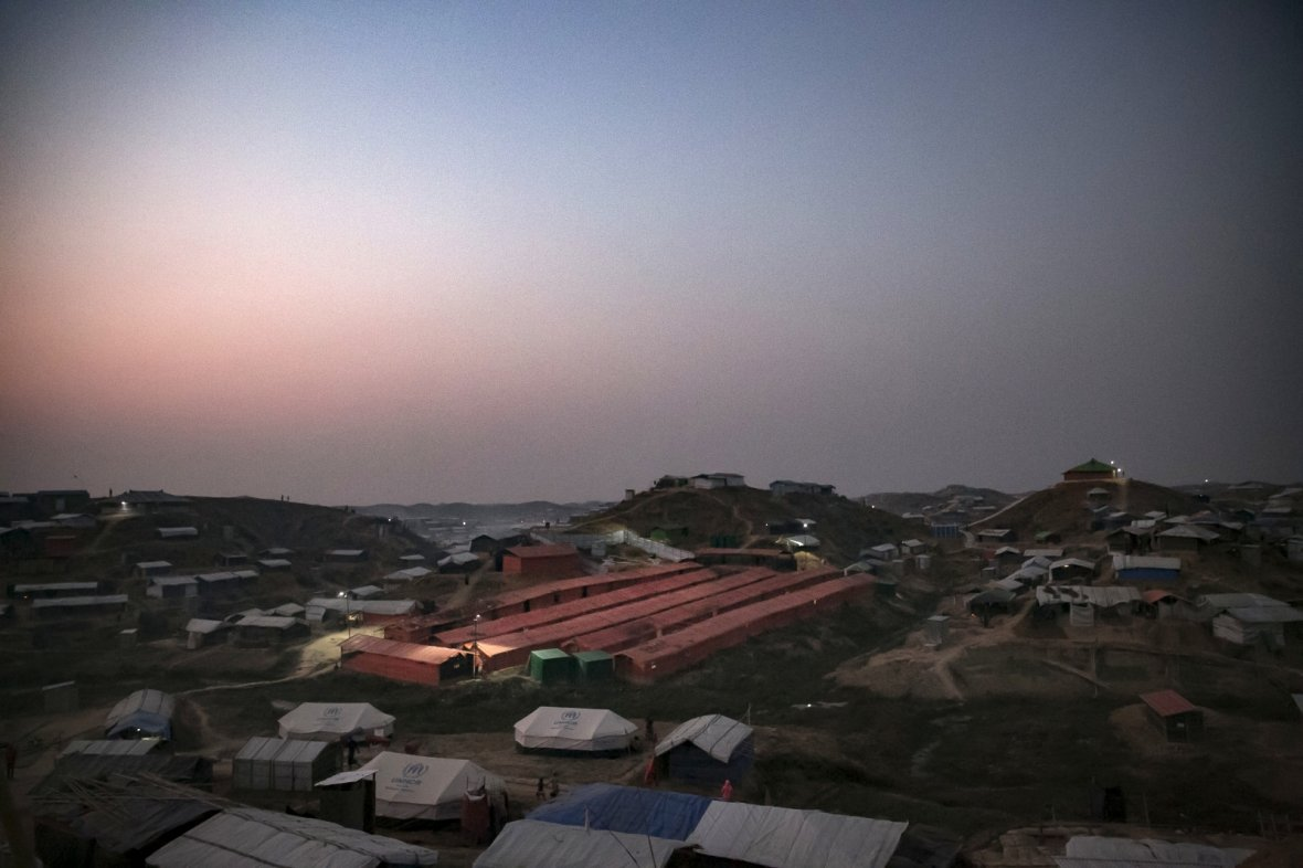 Rohingya women's safe space