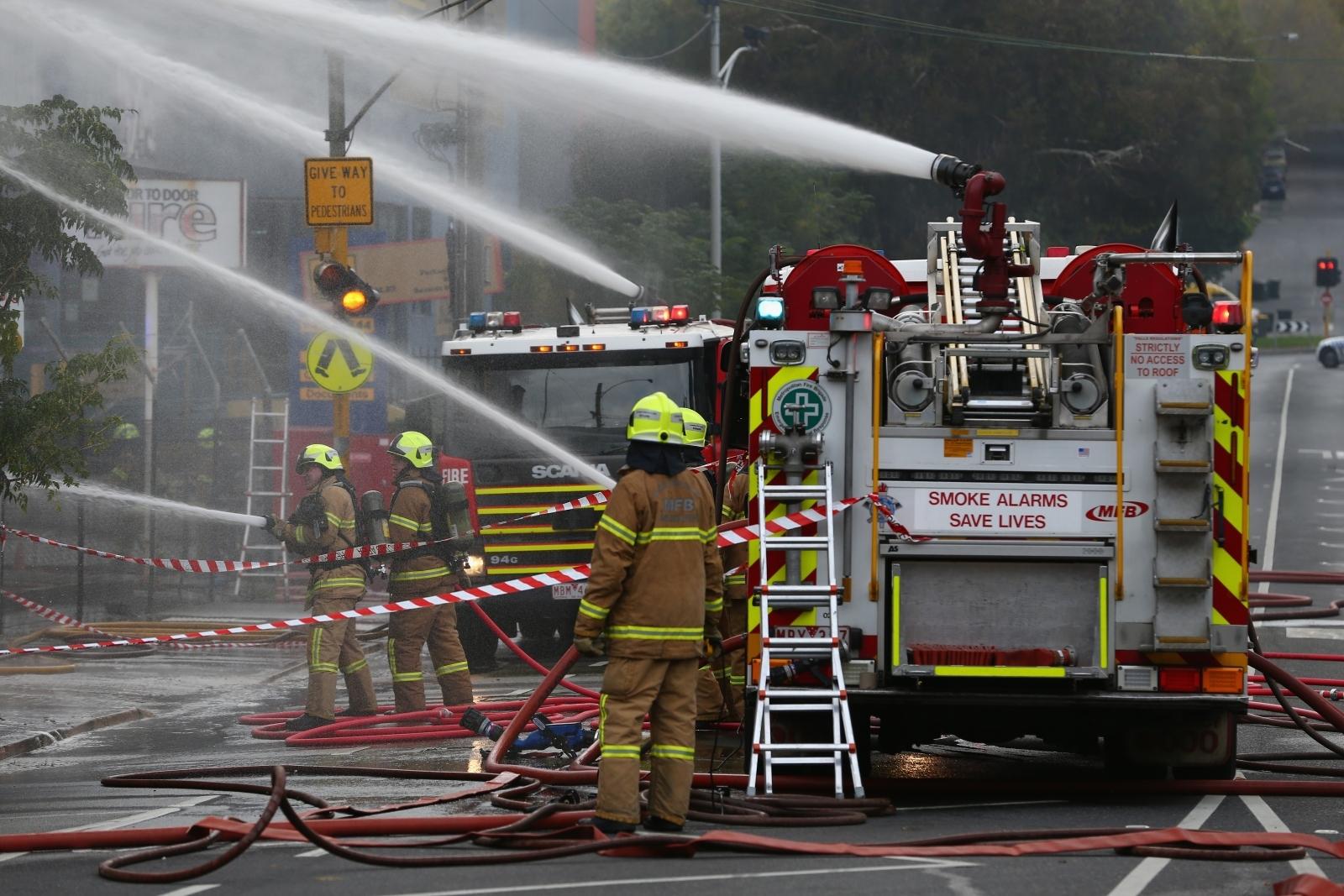 Melbourne Firefighter