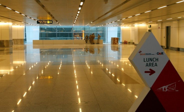 Indira Gandhi airport New Delhi