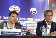 Mark van Bommel and Marcel Brands