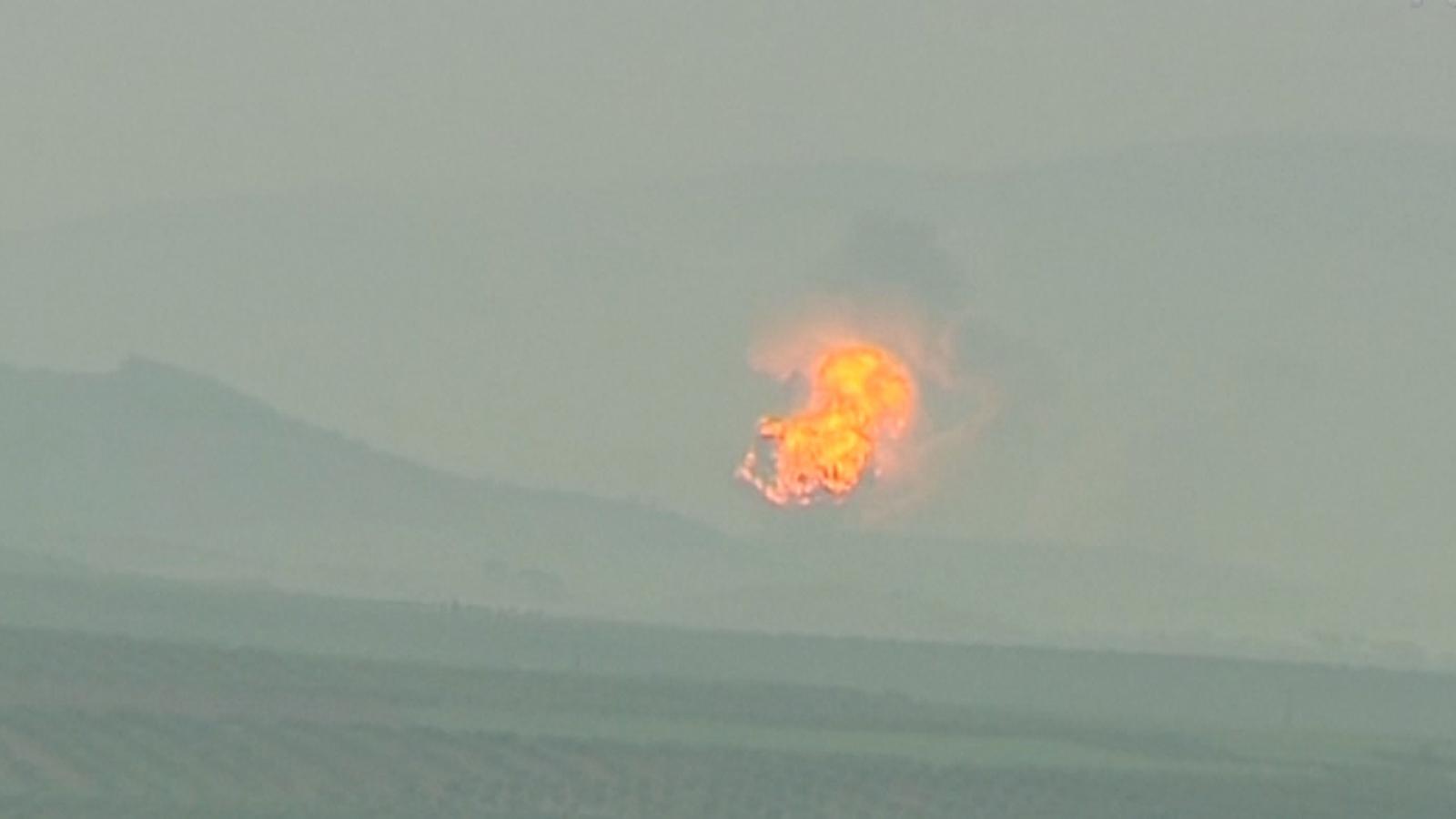 Turkey Shells US-backed Kurdish Militia In Syria's Afrin