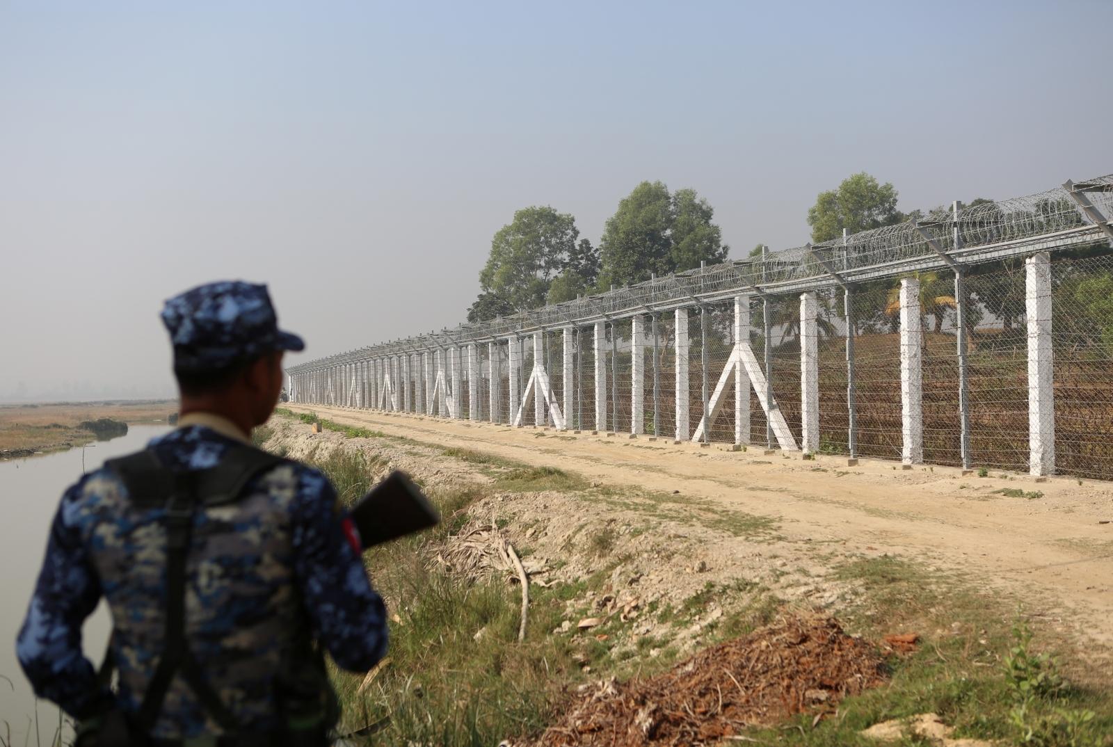 Rohingya Myanmar camp Maungdaw Rakhine