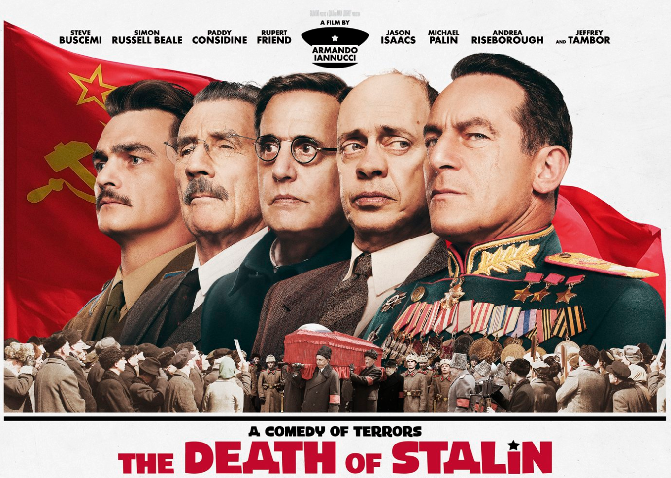 Black comedy 'The Death of Stalin' pulled from Russian cinemas after backlash