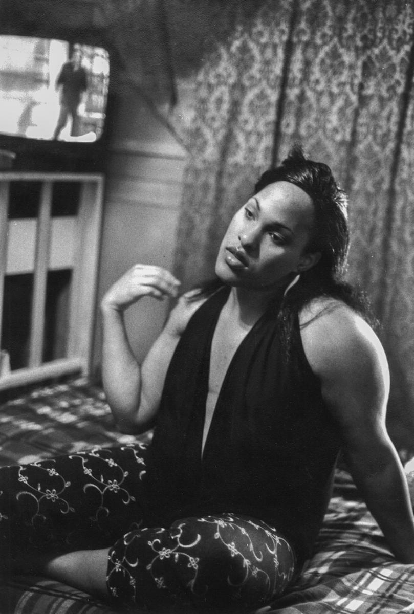 Monique in her room, Queens, NY, 2003