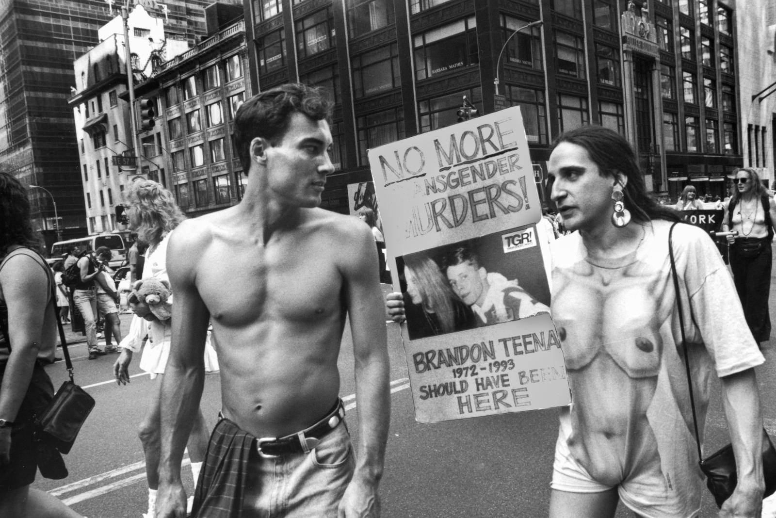 Gay Pride Parade, NYC, 1995
