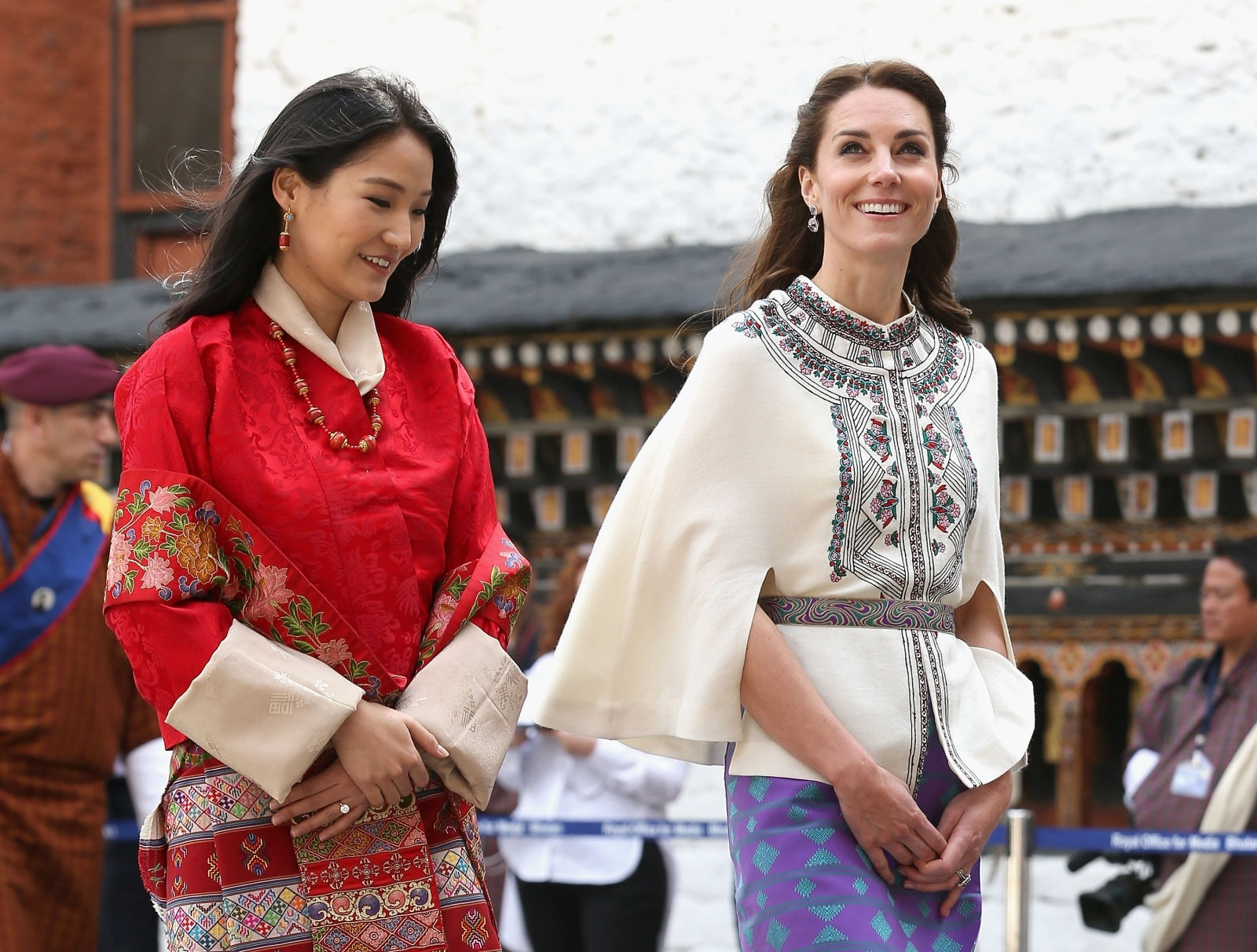 Kate Middleton and Queen of Bhutan
