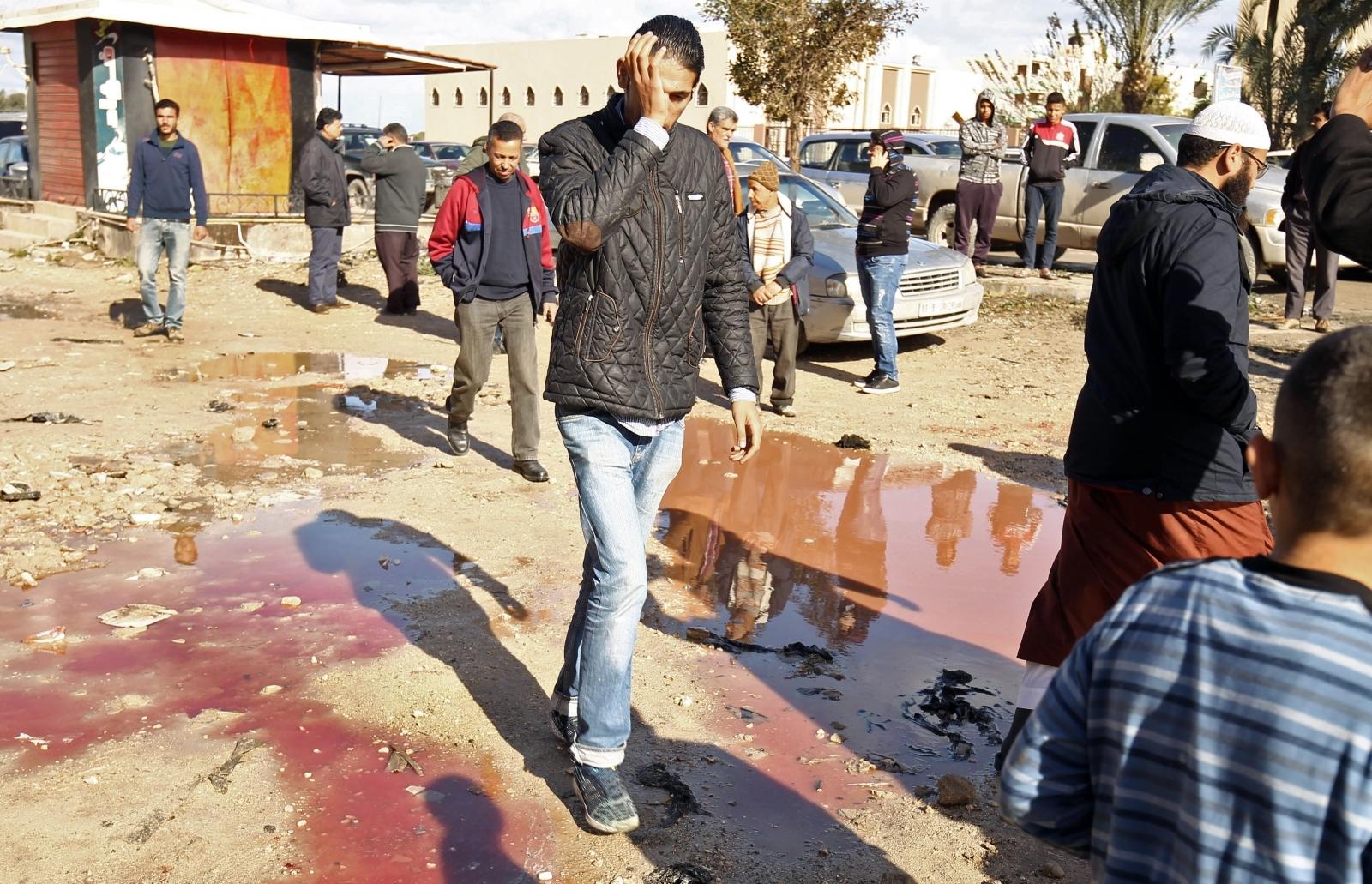 Libya bomb benghazi
