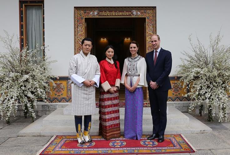 Royals and Bhutan royals