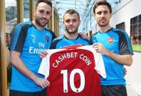 Arsenal stars CashBet Coin