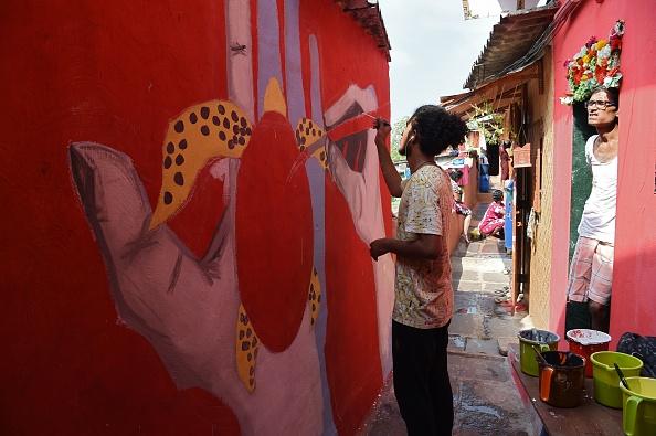 Asalpha village art project