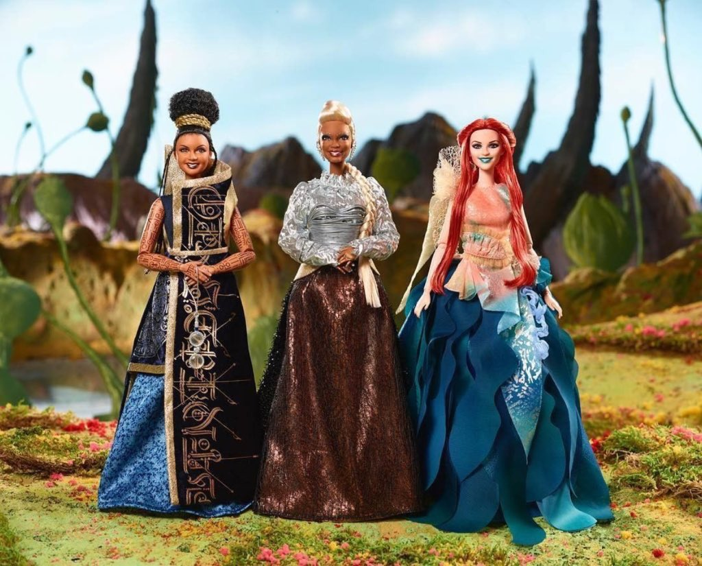 A Wrinkle in Time dolls