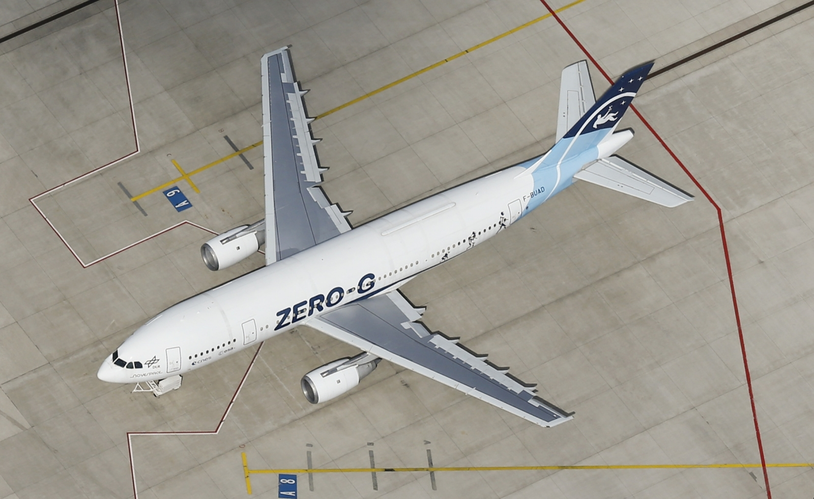 Zero G aircraft
