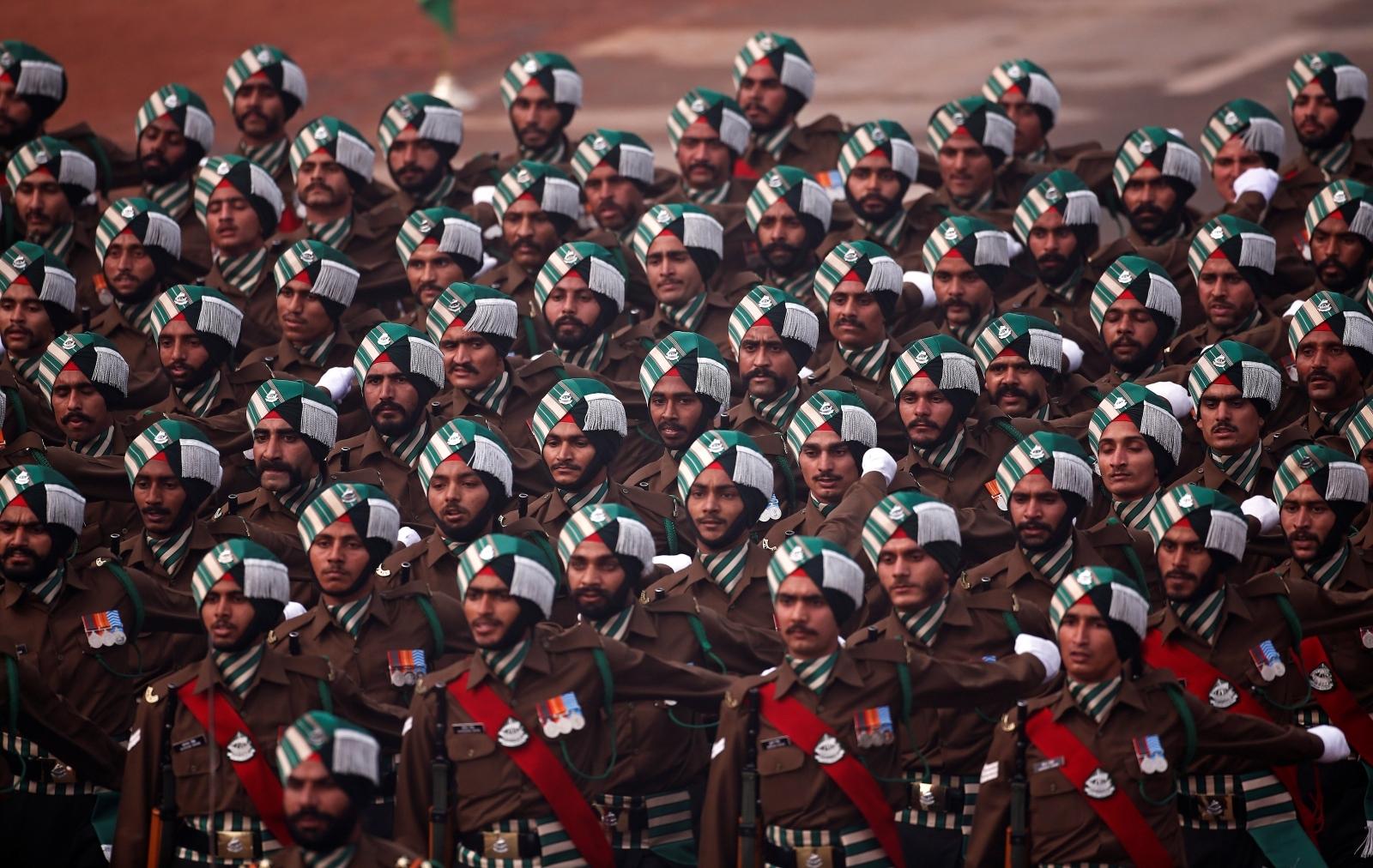India Republic Day parade in New Delhi