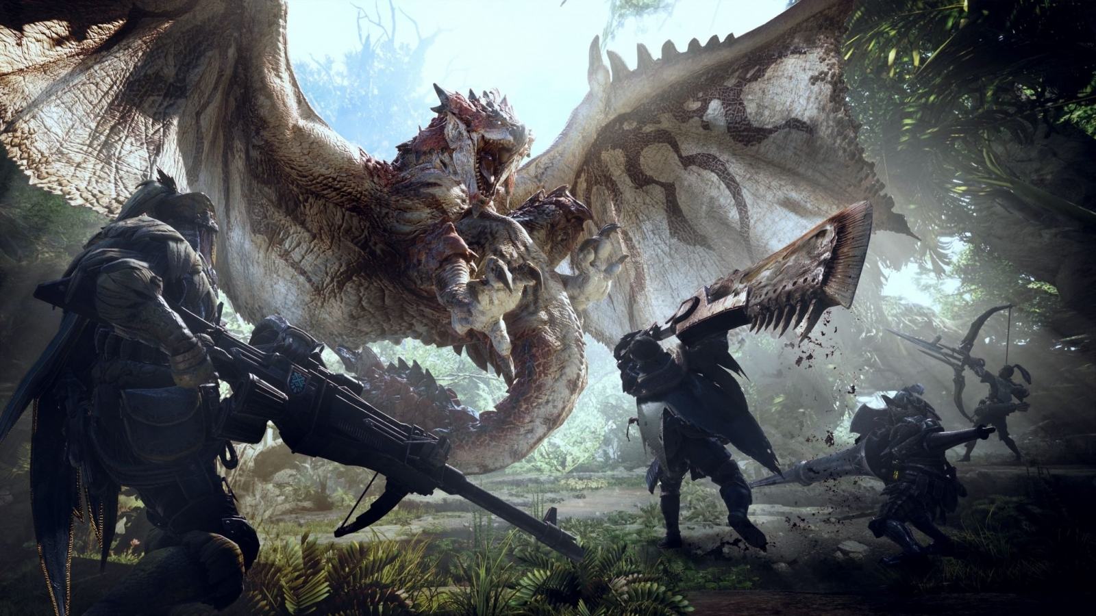 Monster Hunter World slays series record with 5 million launch copies