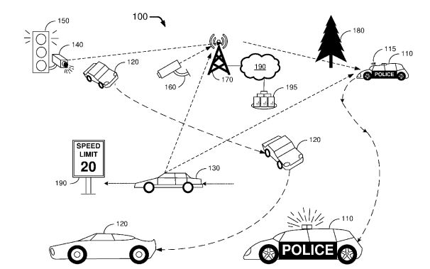 Ford has been granted a patent for intelligent, autonomous police cars""