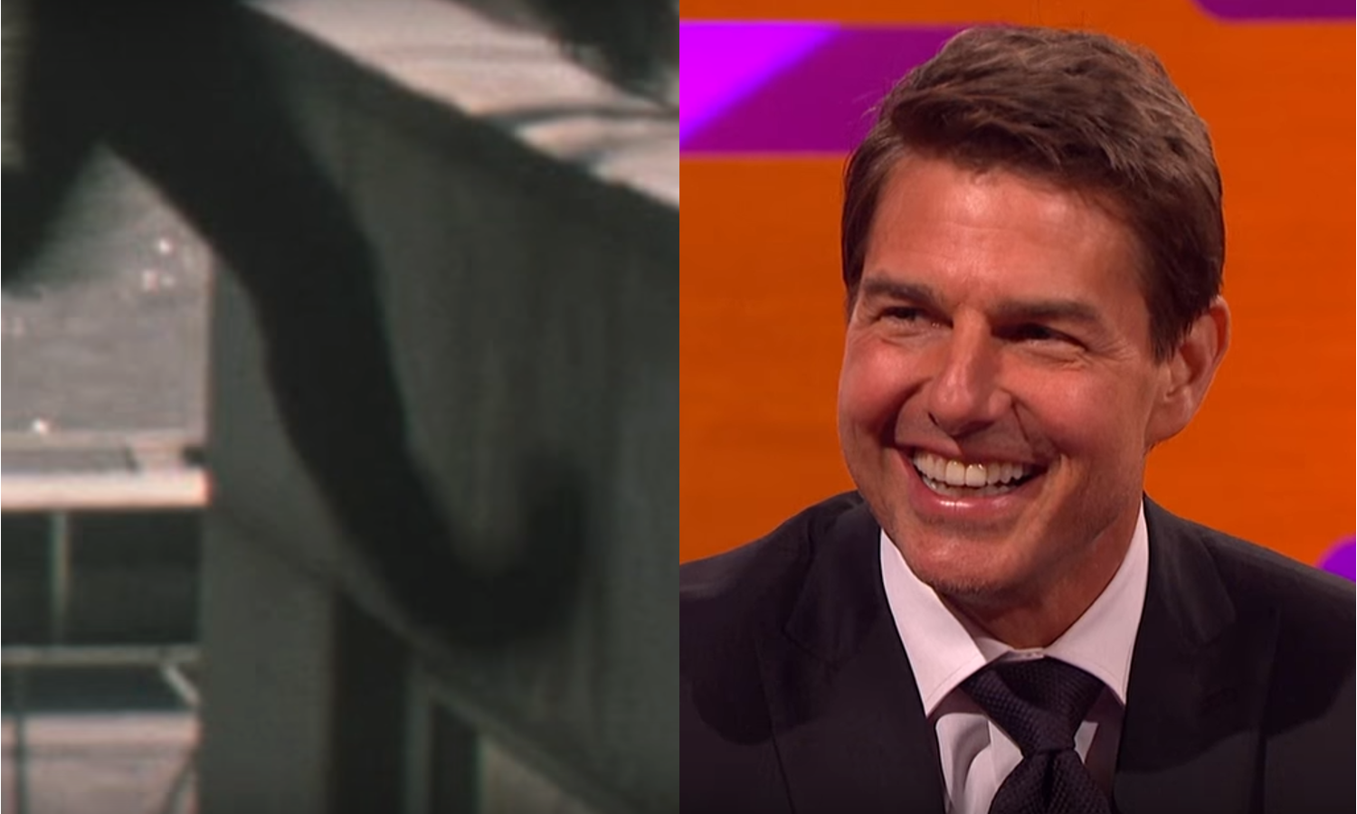 Tom Cruise Mission Impossible Ankle
