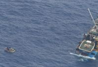 Kiribati ferry