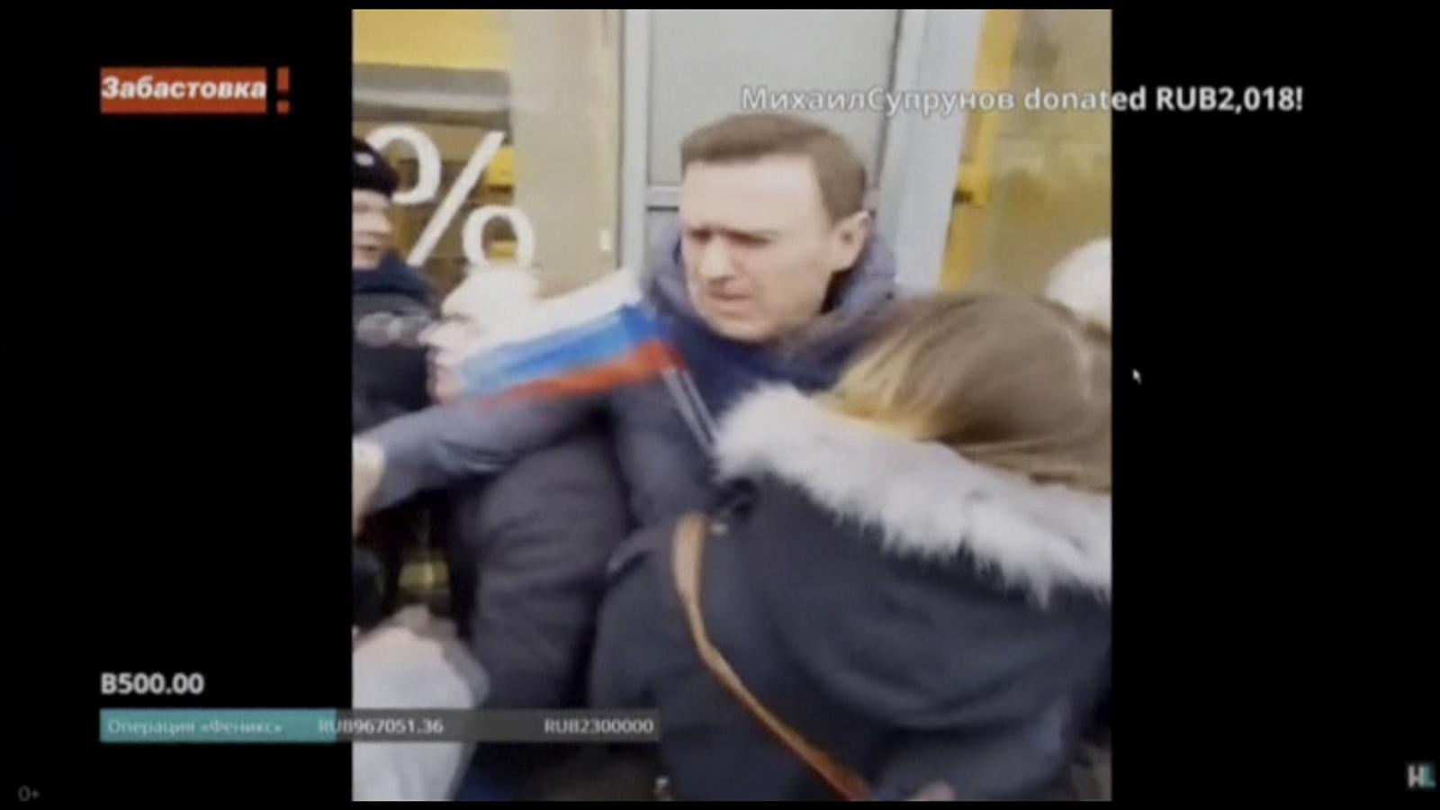 Navalny protest