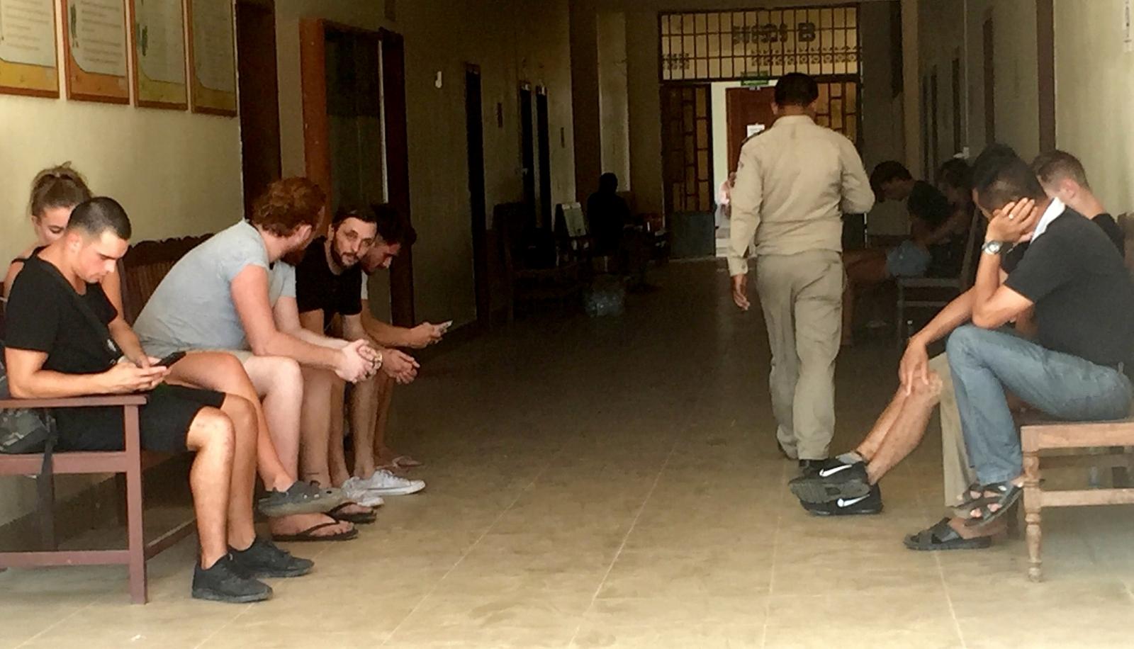 Cambodia arrest