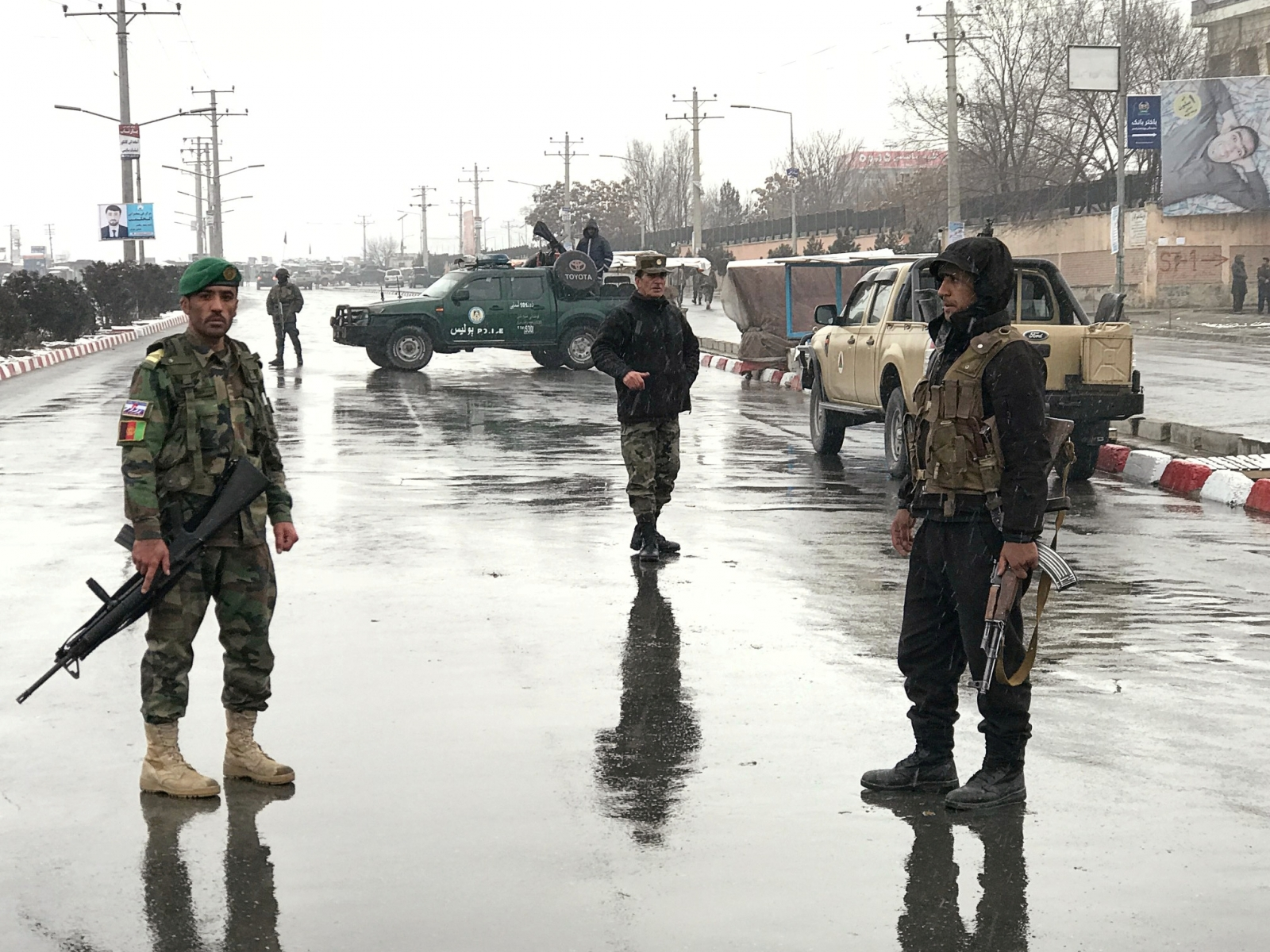 Afghanistan Kabul military academy attack