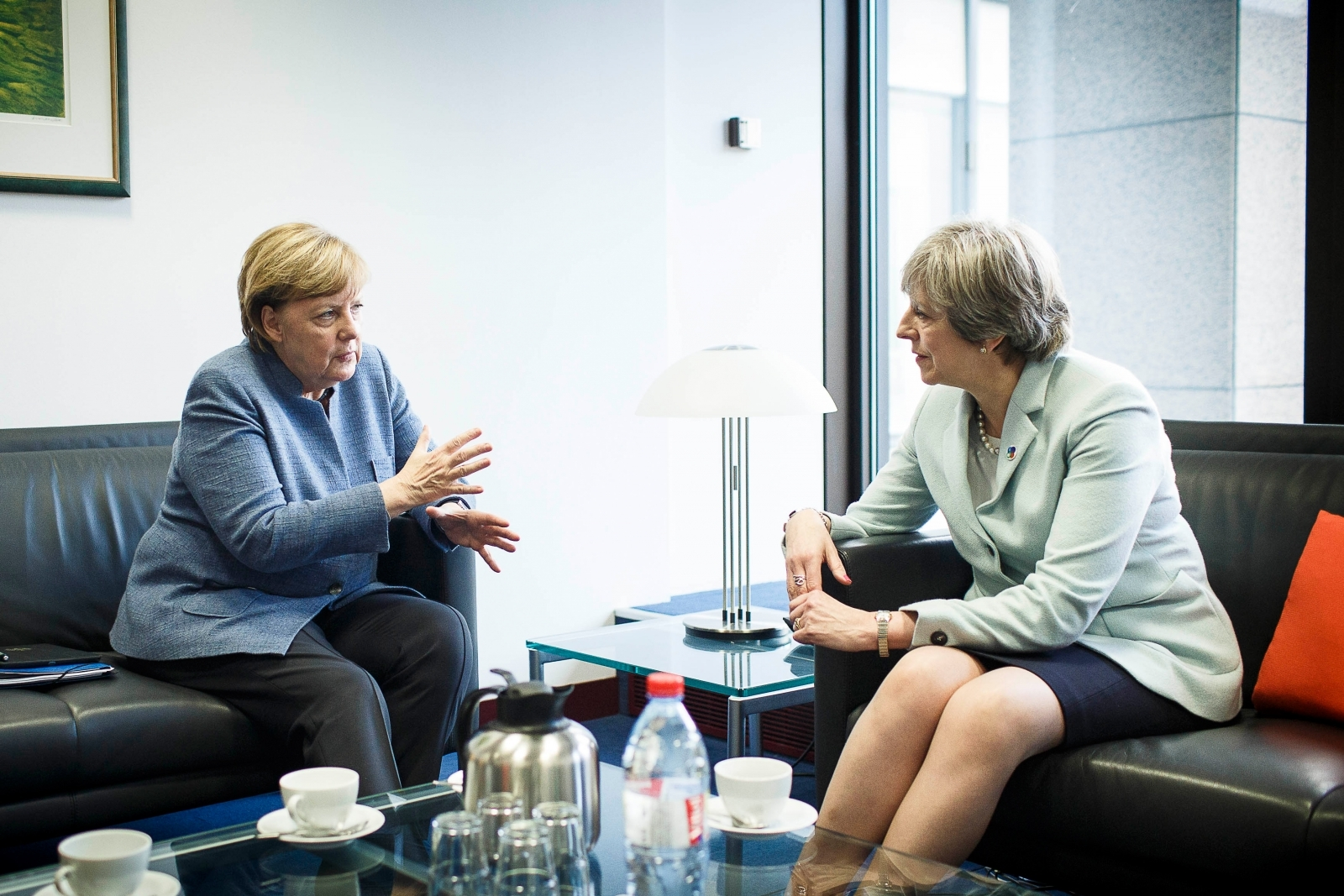 Angela Merkel 'mocked Theresa May's Brexit negotiations'