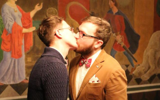 Gay russian couple charged marriage