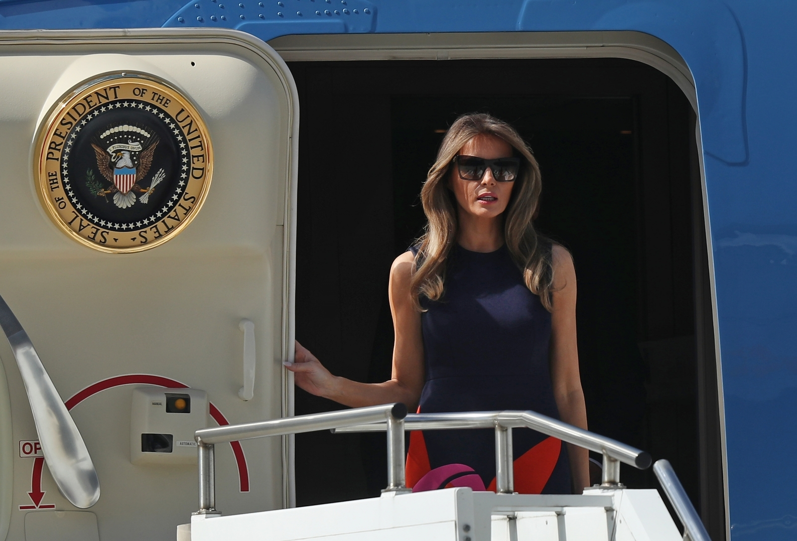 Melania Trump Air Force