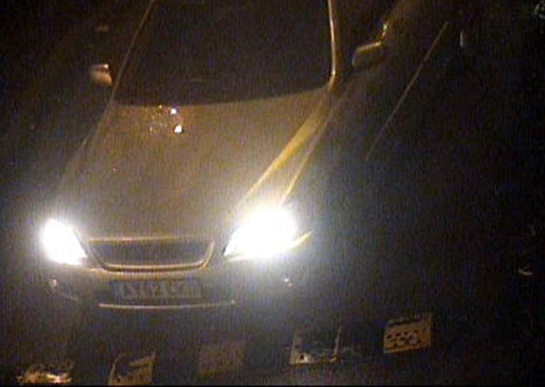 Silver Lexus CCTV image