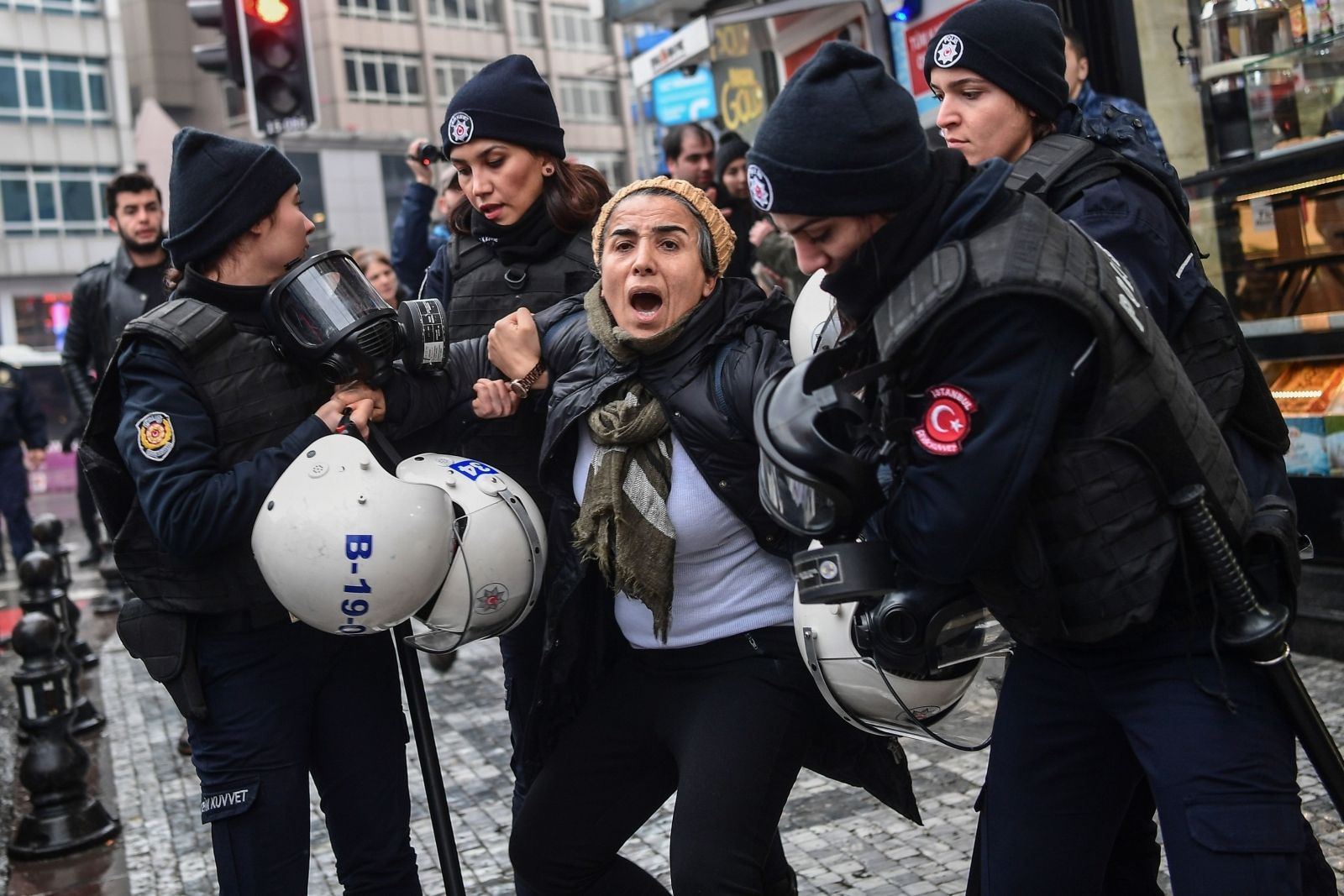 Turkish protests operation olive branch