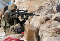 Turkish soldier in Afrin Syria