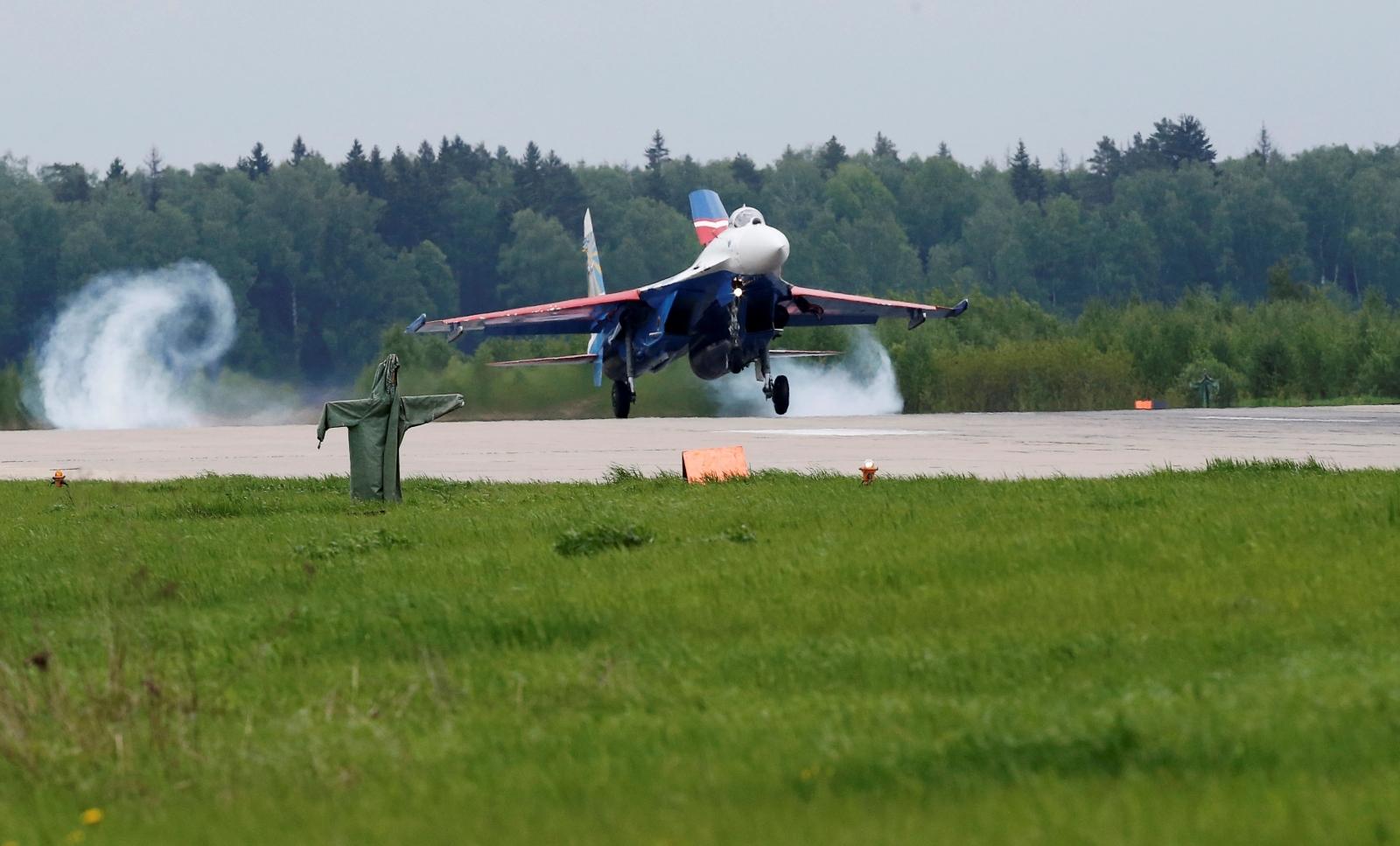 Russia US plane interception