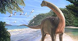 80 million year old dinosaur Mansourasaurus