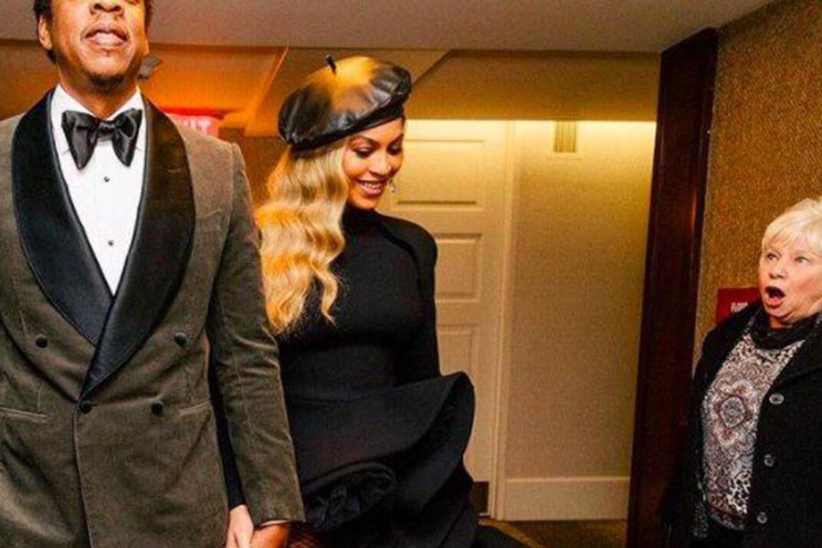 Beyonce shocked woman